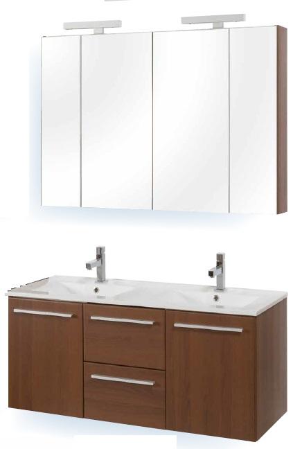 Tboss Miláno fürdőszobabútor szett 120cm (2M/2CS) - több színben