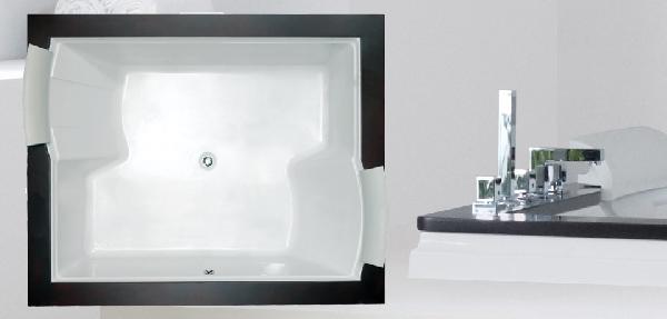 Wellis Nera Maxi 185x150 Hydro akril kád Flipper csapteleppel