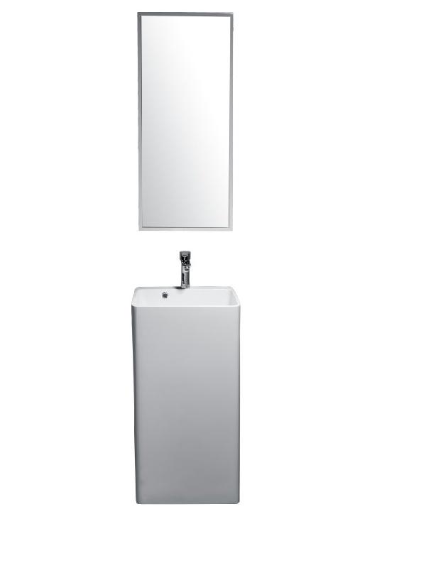 Sanotechnik Álló mosdó öntött márvány WS01
