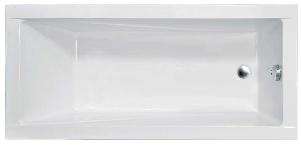 Niagara Wellness Boni / MODERN  160x70 egyenes kád