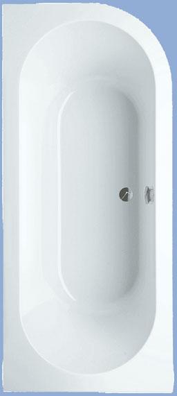 Cassandra speciális fürdőkád, bal 180 x 80 cm