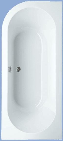 Cassandra speciális fürdőkád, jobb 180 x 80 cm