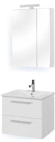 Tboss Miláno fürdőszobabútor szett 60cm- több színben