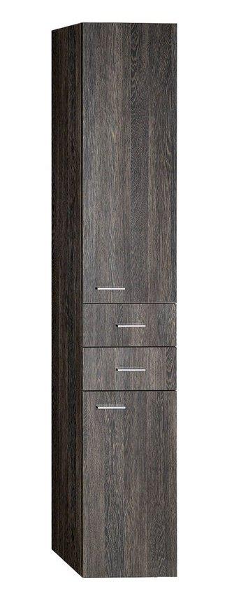 Aqualine Zoja álló szekrény fiókkal 35x184x29 cm, mali wenge