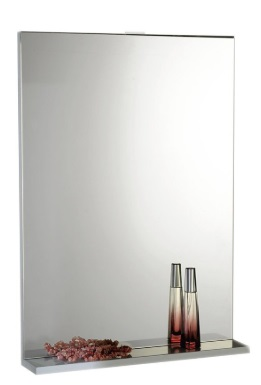 Aqualine BETA tükör polccal 60x80x12cm (57397)