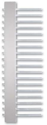 Hopa Jazz 600 x 1215 fehér fürdőszobai radiátor