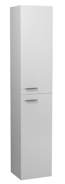 Aqualine ZOJA/KERAMIA FRESH álló szekrény, univerzális nyitási irány L/R fehér 30x140x25cm (51155)
